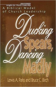 ducking spears dancing madly