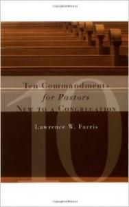 ten commandments new congregation