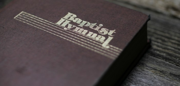Stock photo of a Baptist Hymnal