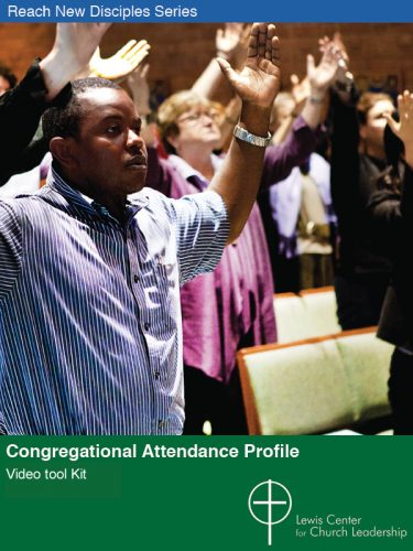 Congregational Attendance Profile Video Tool Kit cover featuring congregants with arms raised
