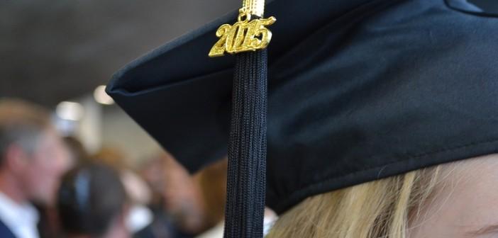Stock photo of someone graduating in 2015