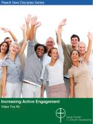 Increasing Active Engagement Video Tool Kit cover showing a diverse group of smiling people waving