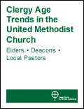 Cover of the Clergy Age Trends Report