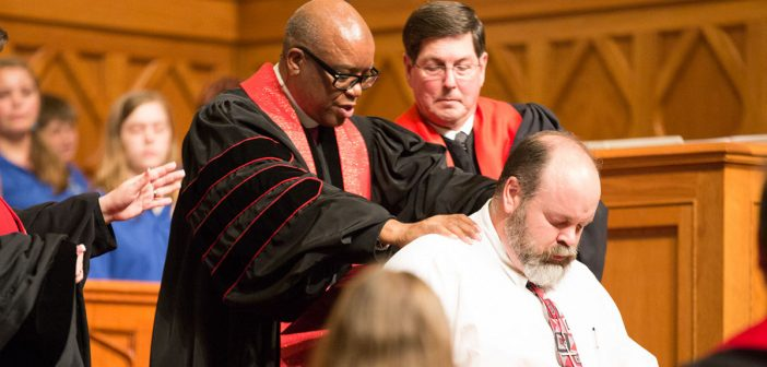 Photo of ordination via Northwest Texas Conference of the United Methodist Church