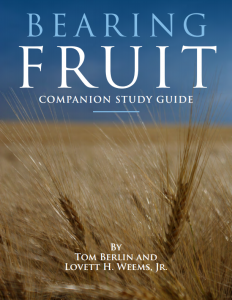 Bearing Fruit Study Guide cover image