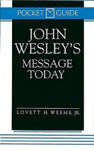 John Wesley's Message Today book cover