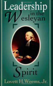 Leadership in the Wesleyan Spirit book cover