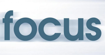 "Blurred image of the word ""focus"""