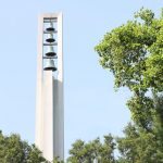 Photo of church bell tower
