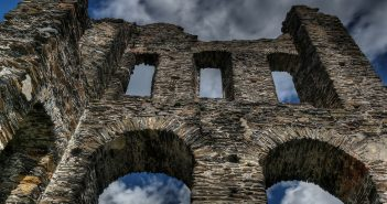 stone castle ruins