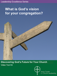 Discovering God's Future for Your Church Video Tool Kit