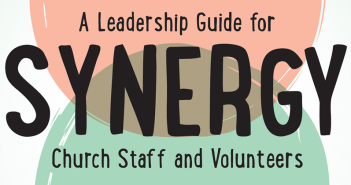 Book cover for Synergy: A Leadership Guide for Church Staff and Volunteers