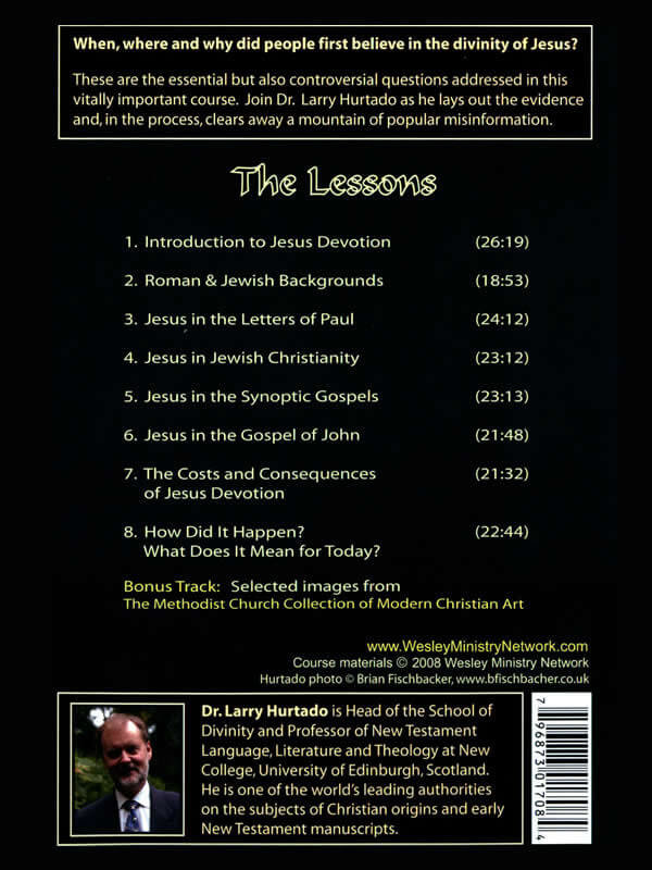 Devotion to Jesus: The Divinity of Christ in Earliest Christianity back cover