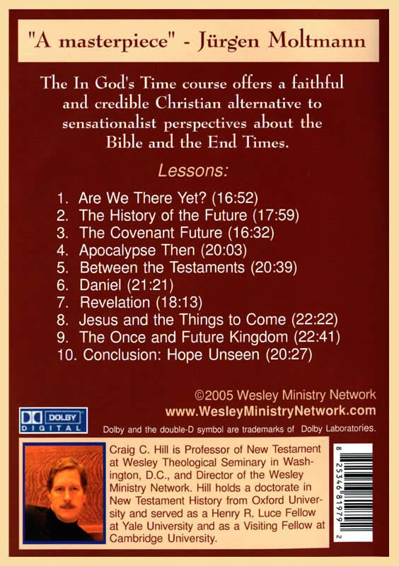 In God's Time back cover