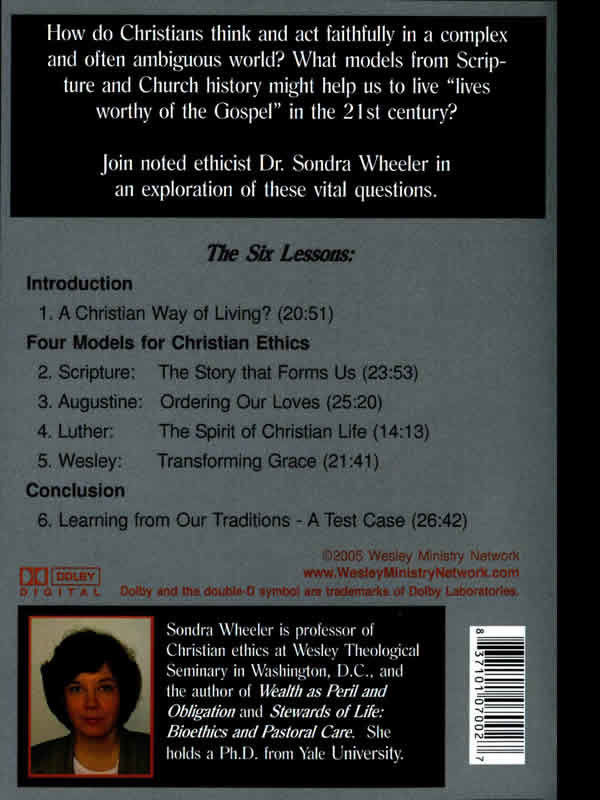 A Life Worthy Of The Gospel back cover