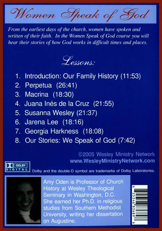 Women Speak of God back cover