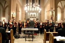 Photo of a church choir