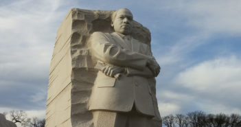 Martin luther King, Jr., statue in Washington, DC