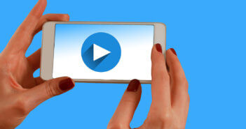 Taking a video with a smart phone