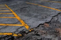 Photo of a cracked parking lot by Matt Johnson at https://ow.ly/iPrX30jQ6ne