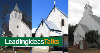 Photos of three different small churches