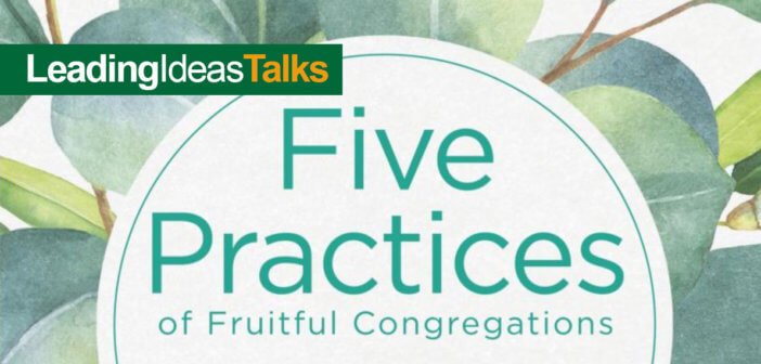 Five Practices of Fruitful Congregations book cover