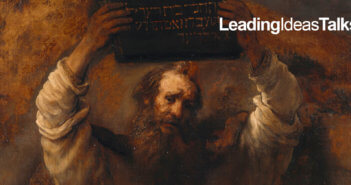 "Detail from ""Moses with the Ten Commandments"" by Rembrandt, 1659"