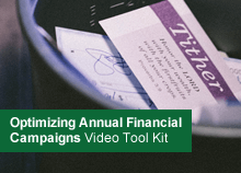 Optimizing Annual Financial Campaigns