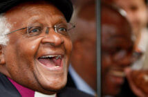 Bishop Desmond Tutu - CREDIT Cate Gillon / Getty Images News / Getty Images / Universal Images Group Rights Managed / For Education Use Only