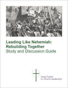 Nehemiah Study & Discussion Guide sample cover