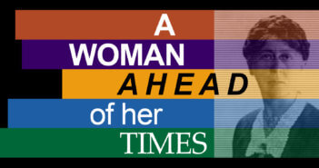 A WOMAN AHEAD OF HER TIMES graphic