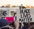 Black Lives Matter protest in front of the White House