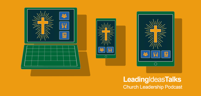 Worship using tablets, smart phones, and laptops