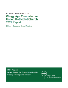 Clergy Age Trends report cover